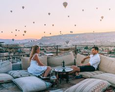 Deep in the heart of Turkey lies Cappadocia - a magical land of balloons and fairy tale rock formations. Here is a list of the most Instagram worthy spots!