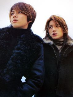 Imai Tsubasa and Hideki Takizawa from the Johnny's Ent. idol duo, Tackey & Tsubasa.