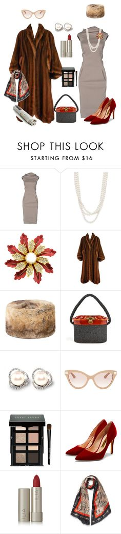 """""""Old Times, Not Forgotten"""" by kelly-haven-russell on Polyvore featuring Rick Owens, Bloomingdale's, DUBARRY, Valentino, Bobbi Brown Cosmetics, Rupert Sanderson and Ilia"""