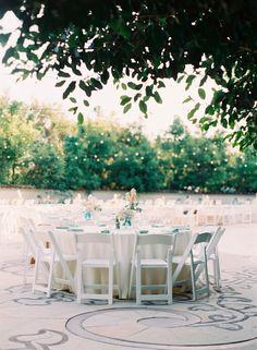 An enchanting and romantic garden setting wedding.