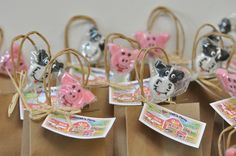 Favors from a Farm Party #farmparty #favors