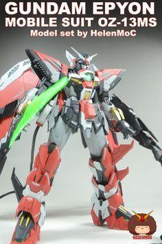 GUNDAM GUY: MG 1/100 OZ-13MS Gundam Epyon - Customized Build