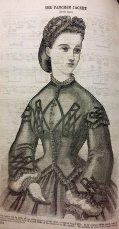 The Fashion Jacket ~ Godey's Ladies Book, 1864