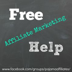 Free Affiliate Marketing Help is available for bloggers and online writers if you're serious about #MakingMoneyOnline