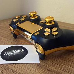 No photo description available. - Playstation - Ideas of Playstation Cool Ps4 Controllers, Ps4 Controller Custom, Game Controller, Playstation Games, Ps4 Games, Control Ps4, Consoles, Nintendo Switch Accessories, Pokemon Eeveelutions
