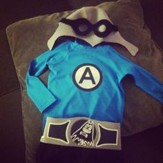 The outfit for my little Aquabat cadet