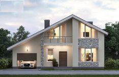 51 Ideas For Exterior House Bungalow Home Plans Modern Bungalow Exterior, Modern Bungalow House, Bungalow Homes, Bungalow House Plans, Dream House Exterior, Modern House Plans, House Front Design, Modern House Design, Architectural House Plans