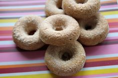 Snickerdoodle Donuts - these look pretty yummy.