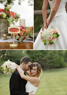 Kansas City Park Wedding From Good Earth Floral Design Studio | Style Me Pretty