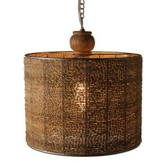 I pinned this Jute Hanging Pendant from the Style Study event at Joss & Main!