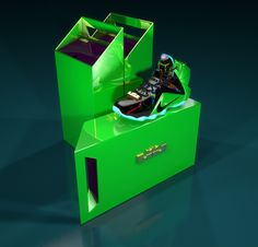 Custom Lebron 12's // handled shoebox