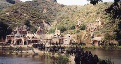 The Ape Village was filmed at Malibu State Creek Park. Amazing transformation!