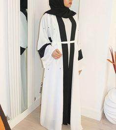 IG: RumaAli_ || IG: BeautiifulinBlack || Modern Abaya Fashion ||