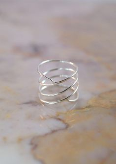 Curved Wraparound Ring