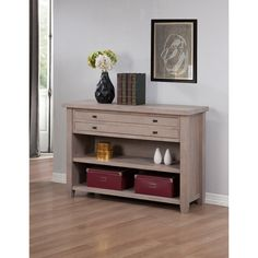 Navigator Dove Grey Console Table | Overstock.com Shopping - The Best Deals on Coffee, Sofa & End Tables