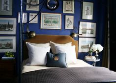 How to Choose the Right Paint Color For Your Bedroom via @domainehome