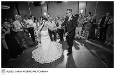 Angela and Tom have fun dancing to the Larry Williams Band at their Portland Maine wedding. Portland Maine wedding, Portland Westin Harborview wedding