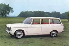 1967 Hillman Super Minx Estate. History of the Motor Car (1968)