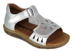 Bundgaard-sandal - Manillo Sølv