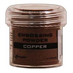 Embossing Powder 1oz Jar-Copper
