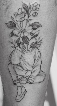 Flower Leg Tattoos, Dainty Tattoos, Feminine Tattoos, Head Tattoos, Mini Tattoos, Body Art Tattoos, Sleeve Tattoos, Tatoos, Rose Drawing Tattoo
