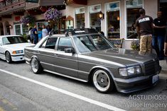 Mercedes+W126+Wheels | The W126 Mercedes Benz was the Big Body S Class of the 1980s. The W126 ...