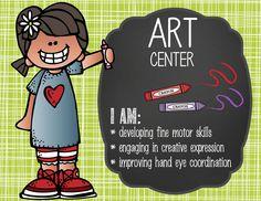 the BRAINY BUNCH Theme Classroom Decor / Center Signs / ABC center / Art center…