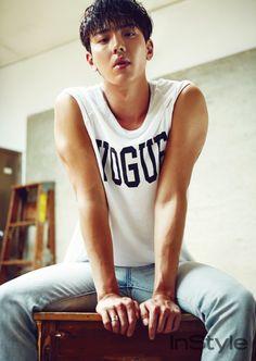 안기고 싶은 어깨, 몬스타엑스 셔누 | 인스타일 (Instyle Korea)