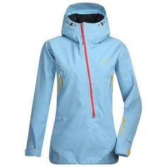 Womens Flow Jacket (Dolphin Blue/Ice Blue)