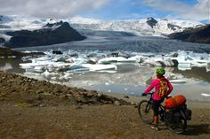 Con un par de ruedas / Adventure & Cycling - SUR DE ISLANDIA