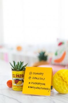 Taco Piñata Workshop Recap (+ A Giveaway! Mexican Pinata, Mexican Horchata, Push Pop Confetti, Pineapple Mint, Crazy Wedding, Taco Party, Fruit Infused Water, The Beauty Department, Cinco De Mayo
