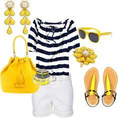 Love stripes......summertime look!