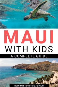 Yes Maui is a kid-friendly Hawaiian island. Find out how to keep your kids entertained with the best kid-friendly Maui activities attractions beaches places to eat and more. This will save you time and keep your family happy! Hawaii Travel Guide, Maui Travel, Hawaii Vacation, Travel Usa, Us Travel Destinations, Family Vacation Destinations, Vacation Spots, Family Vacations, Vacation Ideas