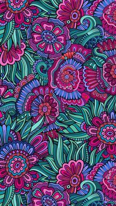 Wallpaper app, wallpaper for your phone, pattern wallpaper, cellphone wallp Tumblr Backgrounds, Phone Backgrounds, Wallpaper Backgrounds, Iphone Wallpapers, Wallpaper App, Flower Wallpaper, Pattern Wallpaper, Cellphone Wallpaper, Pink And Turquoise Wallpaper