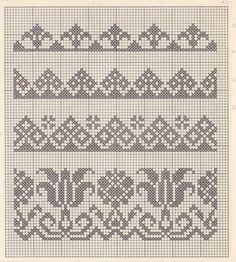 1 million+ Stunning Free Images to Use Anywhere Cross Stitch Boarders, Cross Stitch Flowers, Cross Stitch Designs, Cross Stitching, Cross Stitch Embroidery, Embroidery Patterns, Cross Stitch Patterns, Fair Isle Knitting Patterns, Knitting Charts