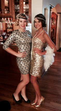 flapper dresses - great gatsby party