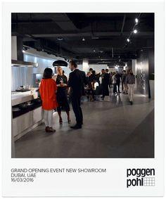 Poggenpohl Opening in Dubai, United Arab Emirates