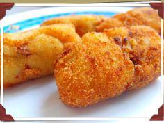 @MariaPerolas Croquetas de manzana y jamón