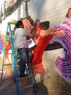 Mexican Dance Ensemble, Chicago IL: Search results for mural