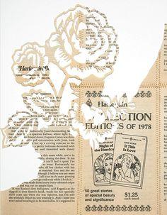 cut newspaper