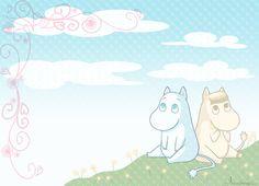 moomin wallpaper