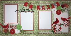 1000 Images About Christmas Scrapbook Layouts On
