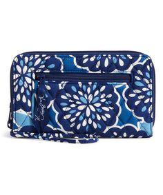Look at this #zulilyfind! Petal Splash Zip-Around Wallet by Vera Bradley #zulilyfinds