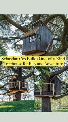 Outdoor Projects, Wood Projects, Woodworking Projects, Outdoor Decor, Larch Cladding, Cool Tree Houses, Tiny House Living, Small House Design, Home Interior Design