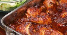 esta receta pollo enchilado es muy fácil de hacer y con un sabor exquisito que quedaras con ganas de volver a repetir otra porción . ...
