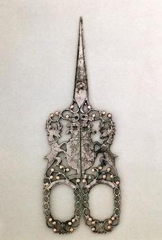 The coolest scissors. Ca 1840