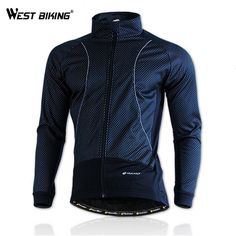 NUCKILY Hiver Véable Polaire Manteau Thermique Vélo Coupe-Vent Ropa Ciclismo Veste Vé Cycling Tights, Cycling Shorts, Pro Cycling, Cycling Jerseys, Bike Pants, Jacket Style, Jacket Men, Mens Fleece, Womens Clothing Stores