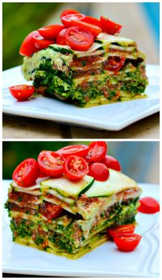 Epic #DeepDish #Vegan #Lasagna - it's #LowFat and oil free!