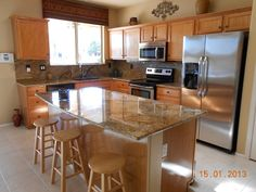 very long kitchen island - Google Search