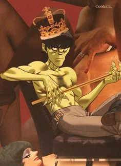 Murdoc Niccals. I don't know why he's dreamy, I JUST KNOW THAT HE IS OKAY